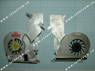 fan Toshiba Satellite A200, A205, A210, A215, L450, L450D, L455, L455D  TOSHIBA A200 WITH с радиатором